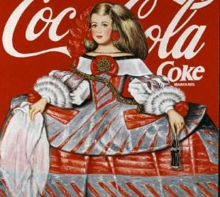 Menina Coca-Cola