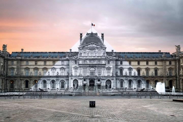 JR Pyramide du Louvre