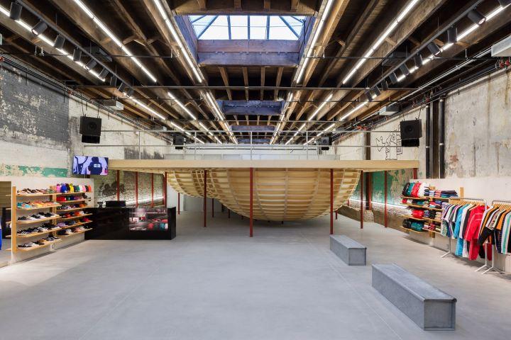 Tienda de Supreme en Brooklyn, tomada de la pagina HYPEBEAST