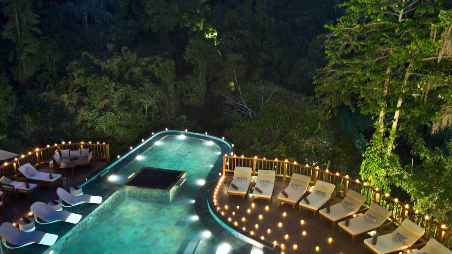 Indoor Pool Bauen The Best Swimming Pools In Bali