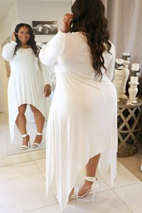 All-White Party Attire!  TheCurveSlayer