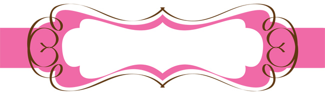 Brown And Pink Banner The Cutest Blog On The Block