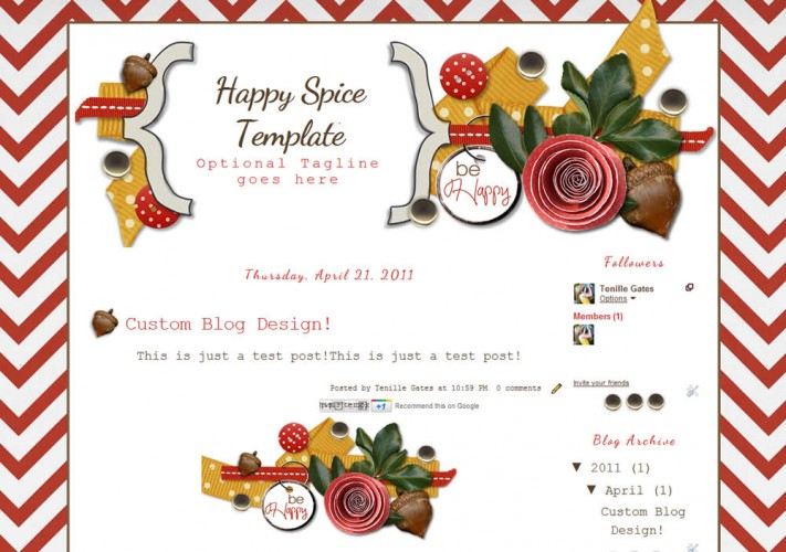 Blogger Templates The Cutest Blog On The Block - Page 2 - free cute blogger templates
