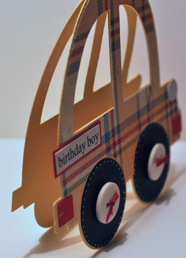 card box template