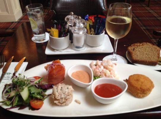 Dingle Skellig Blasket Bistro Seafood platter