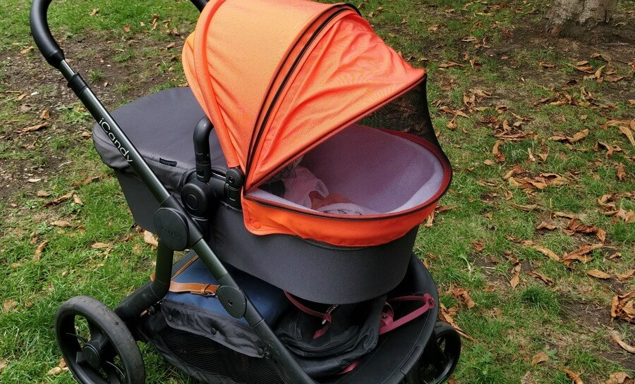 Double Pushchair With Buggy Board Icandy Orange Pushchair Review Pushchairs The Dadsnet