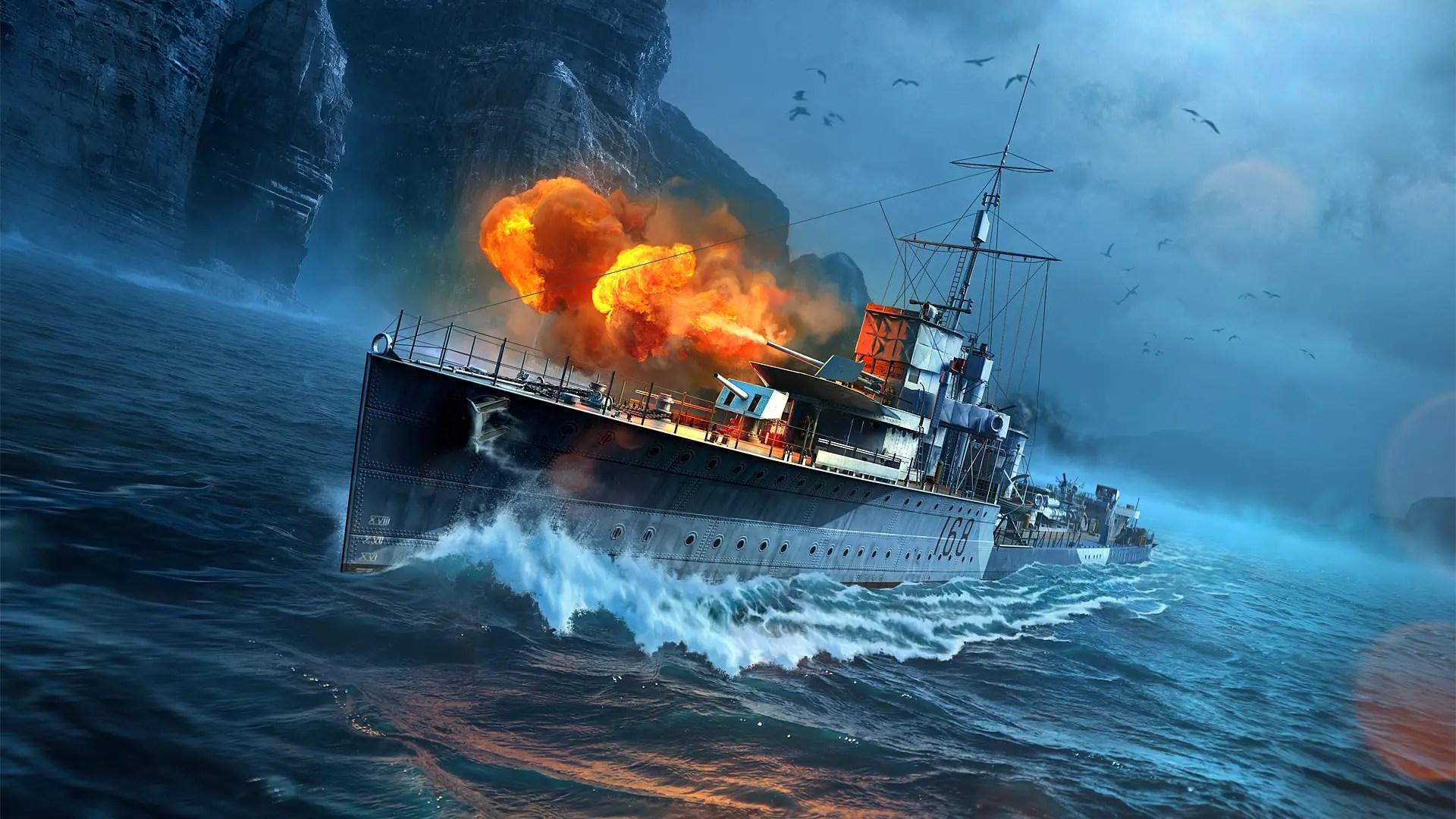 Wallpaper Girl 8k World Of Warships Vampire Mission Marathon