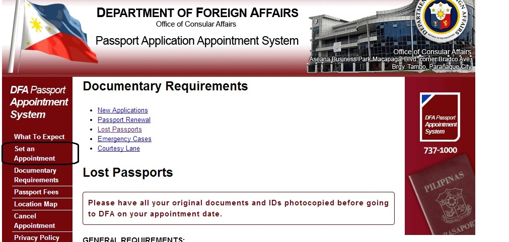 Lost Passport My DFA Experience The Duc Fam Adventures - lost passport form