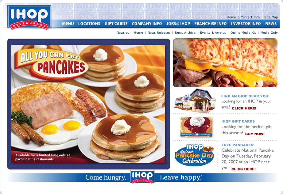The best place for Pancakes at 3am \u2013 IHOP The Daily Enjoyable