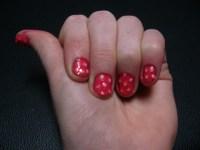 Girly Bubble Nail Design - The Daily Nail