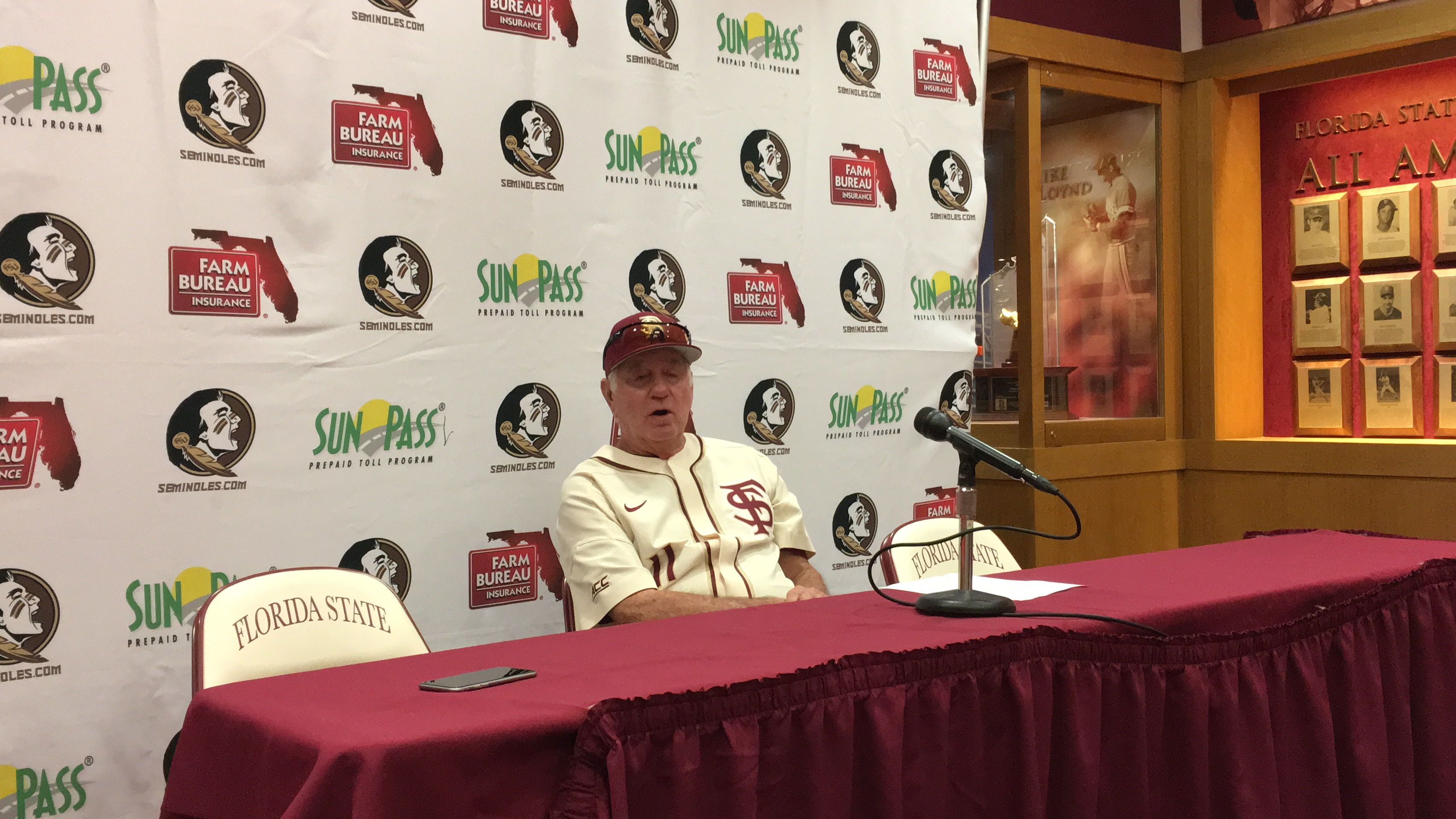 Bureau Eiland Video Mike Martin Discusses 7 3 Victory Over Troy The Daily Nole