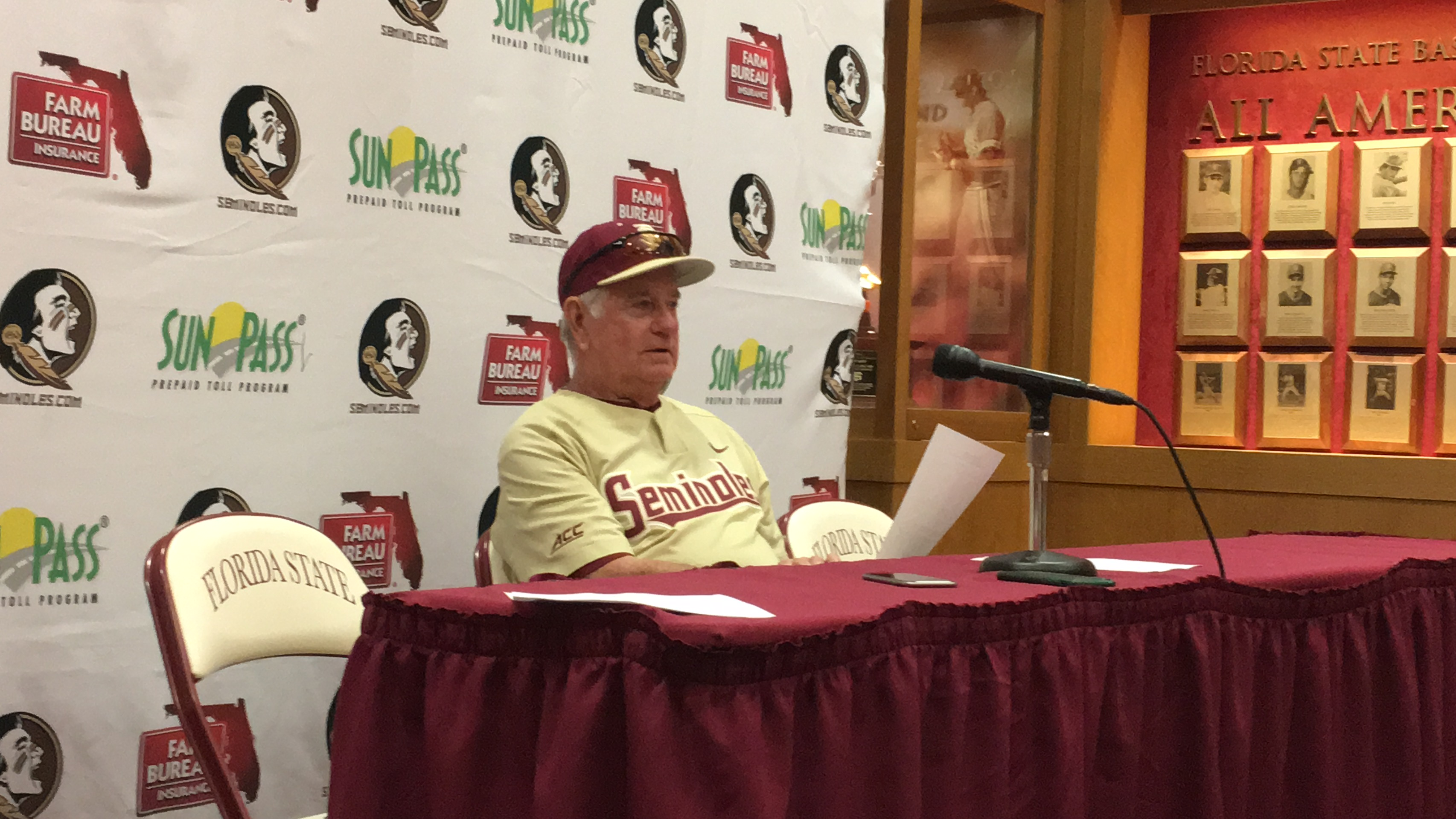 Bureau Eiland Video Mike Martin Talks 9 4 Win Over Troy The Daily Nole