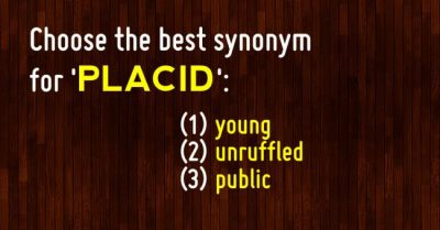 We Gave This Synonym Test To 100 Americans And Only 3 Passed It | The Daily Polls