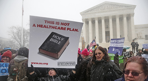 Supreme Court divided on Hobby Lobby challenge