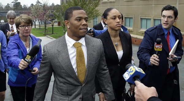 Ravens' Rice is 'ashamed, sorry' for assault case