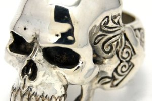 New skull ring from The Great Frog