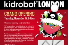 Kidrobot London Update