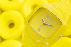 Nixon Fluro Player (Yellow)