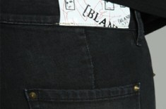 Blank motorcycle jeans (Womens)