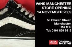 Vans Manchester store