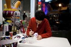 Recap: Kidrobot Jon Burgerman Signing