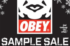 Obey Sample Sale