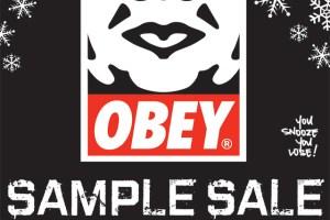 Obey Sample Sale