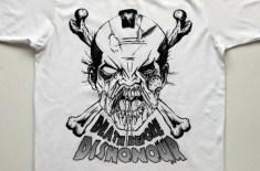 Death Before Dishonour Samurai Zombie
