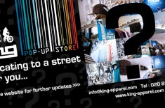 King Apparel Pop-Up Store Comes To An End