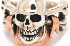 The Great Frog Pirate Skull Ring