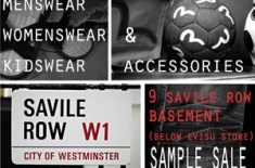 Evisu London Sample Sale