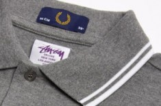 Stussy Deluxe x Fred Perry drops at Oki-Ni