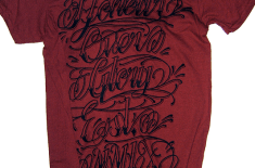 Honour Over Glory Script T-Shirts