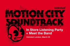 MCS Listening Party at Kidrobot