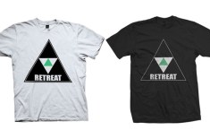 Retreat Triangular Logo Tee