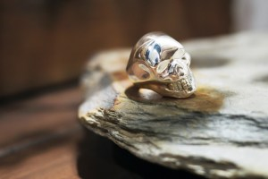 1,000th Skull Ring by Crazy Pig Designs