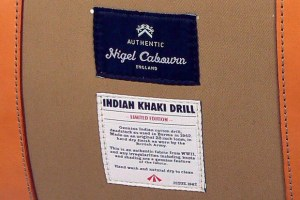 Nigel Cabourn Indian Drill Luggage Restock