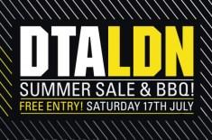DTA LDN Summer Sale & BBQ