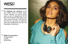 WeSC Store Launch Promotion