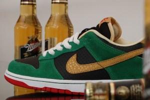 "Nike SB ""Miller High Life"" Dunk Low"