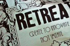Retreat Craft Work T-Shirts