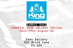 King Apparel Sample Sale
