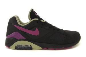 Nike Air Max 180 (Black/Purple)