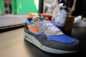 Nike Air Max 1 'Skull Pack' Old Royal/Tango (Deadstock)