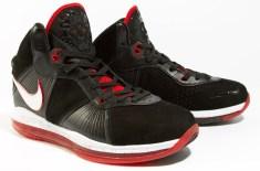 Nike Air Max LeBron VIII (Black/Red/White)