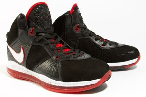Nike Air Max LeBron VIII (Black/Red/White)