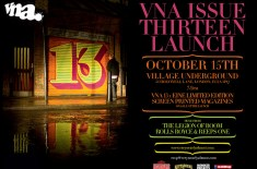 VNA Issue Thirteen Launch