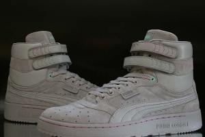 size? x Trainerspotter x Puma Sky II Hi (A closer look)
