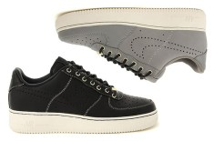 Nike Air Force 1 (Black/Sail & Medium Grey)