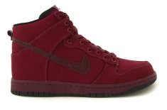 Nike x Maharam Dunk Hi (Black & Dark Plum)